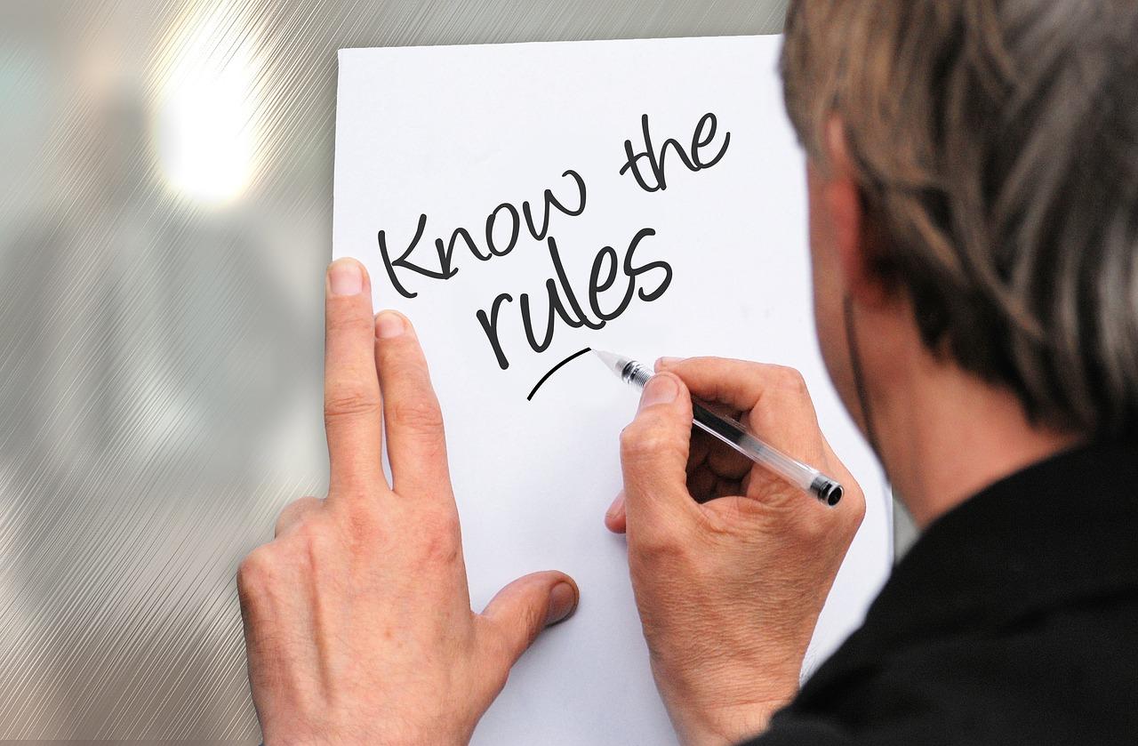 Webconventies: Ken de regels